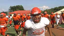 Mansfield Tygers Back To Work After First Scrimmage