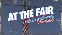 At The Fair: Ashland County Thursday
