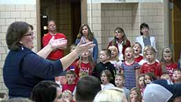 Shelby Students Hold Presentation Observing Veterans Day