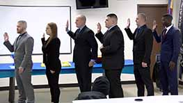Mansfield Police Swear In Six New Officers