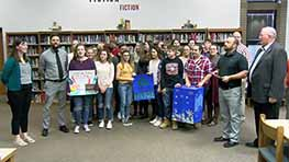 Crestview High School Receives Award For Recycling Project