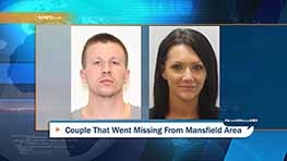 Mansfield Police Seek Missing Couple