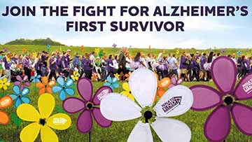 Walk To End Alzheimer's Scheduled For September 14