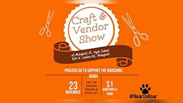 Craft And Vendor Show To Support Mansfield Sr. Marching Band