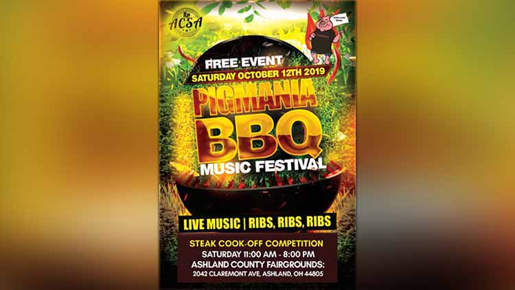 PigMania BBQ Music Festival Coming To Ashland October 12th